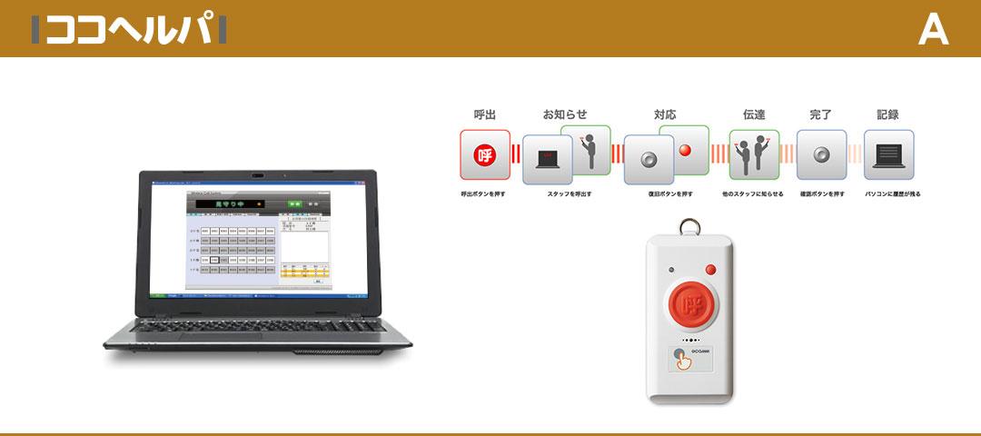 低価格を実現した無線式ナースコールシステム